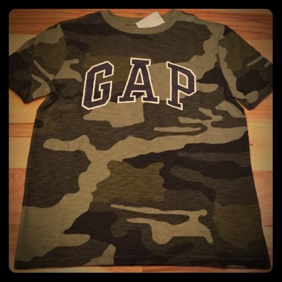 975df5316be1 GAP Shirts & Tops   Kids Xs M L Logo Camouflage Shirt   Poshmark